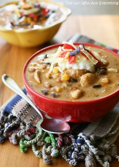 Spicy Chicken Enchilada Soup - #Food, #Recipes, #Soups - FoodOMG.Com