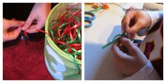 how to make wreaths with candy | how to make a candy wreath tie candy