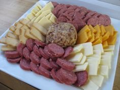 Traditional Meat & Cheese Platter