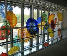 art museum, persian window, stain glass, chihuli glass, stained glass