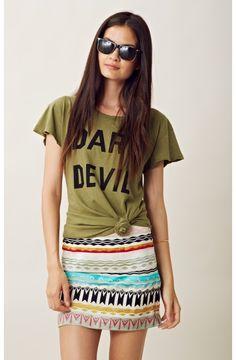 Chelsea Flower Surfer Skirt #lovethis @Planet Blue