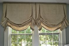 SYLVAN GUEST ROOM WINDOW TREATMENTS  via LUCY WILLIAMS INTERIOR DESIGN