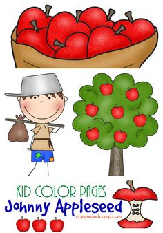 Johnny Appleseed (Free Printables)