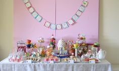 Cute tea party idea!