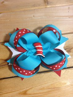 Dr, Suess inspired bow