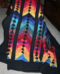 French Braid quilt.