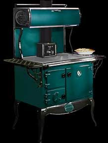 Wood Cook Stoves - The Waterford Stanley Irish wood cookstove