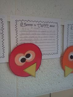 Third Grade's a Charm: First Day Fun another freebie template for this cute activity.
