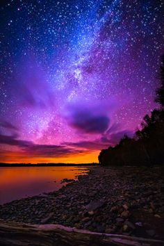 maine, night skies, sunset, bays, northern lights, star, vibrant colors, usa travel, spencer bay