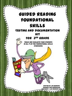 Knowing exactly which foundational skills skills each student in your classroom needs to learn, is one of the keys to providing the best guided reading instruction possible. This resource has been created to help you make these decisions based on real data that reflects what your students do, and do not know about the foundational skills standards in the third grade curriculum. $