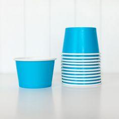 Ice Cream Bowls - Blue
