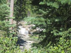 Placerville, CA Smaller Falls