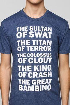 AHHH YESS!!! Sandlot t-shirts! Need this!!