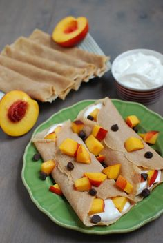 Cinnamon Vanilla Crepes #healthy #food