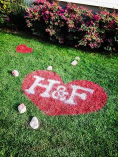 Don't wear your #heart on your sleeve, wear it on your #lawn! #ValentinesDay #HomeandFamilyTV