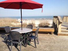 There's an open table at the Dunes House with an ocean view just waiting for you...#HiltonHeadIsland