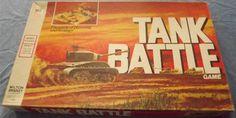 MILTON BRADLEY: 1975 Tank Battle Game #Vintage #Games