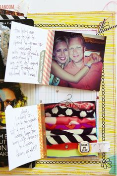 ZaZa layout by Shannon Tidwell - Two Peas in a Bucket #scrapbooking