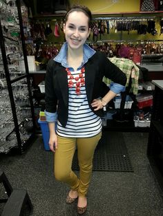 Whole outfit for $30.00 @ Plato's Closet. Thrifting can turn out some great pieces!