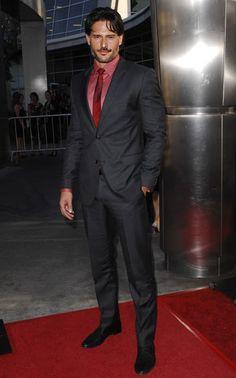Joe Manganiello... Even in a suit!!!!
