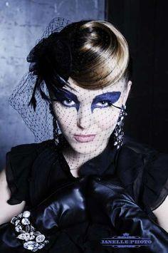 Another cool makeup idea gothic makeup, makeup ideas