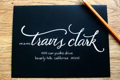 invit, business cards, font, envelope addressing, handwritten, brush lettering, script, addressing envelopes, hand lettering