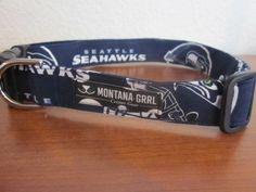 Seahawks Dog Collar