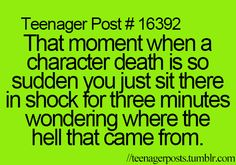 There are many, many books that have done this to me. Harry Potter, Hunger Games, Game of Thrones, etc.