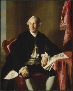 John Singleton Copley, Joseph Warren, about 1765. Museum of Fine Arts, Boston.