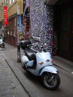 Street Art outside Movida, Melbourne