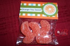 Orange you sweet - nice treat for any time