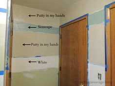Thrifty Parsonage Living: PAINTING HORIZONTAL STRIPES ON WALLS (DIY)