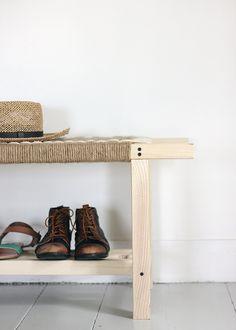 DIY Woven Bench Tutorial