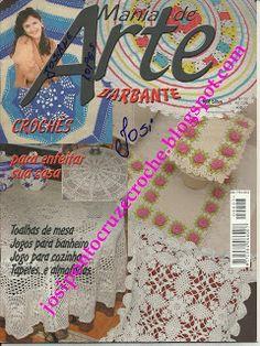 Josi Artesanatos: Revista Mania De Arte Nº 02 Bia Moreira