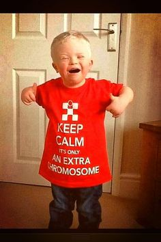 the cutest thing autism awareness, down syndrome, keep calm posters, children, rock, kids, parenting win, little boys, shirt