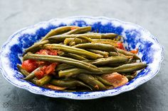Green+Beans+with+Tomatoes+and+Bacon+on+Simply+Recipes
