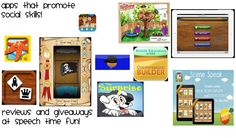 Pragmatic Skills Series: Apps that promote social skills! - Pinned by @PediaStaff – Please Visit http://ht.ly/63sNt for all our pediatric therapy pins