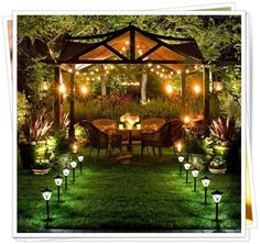 5 Absolutely Gorgeous Backyard Designing Ideas (at Night) ~ Love-sepphoras