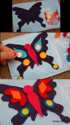 Schaer Talents: Butterfly Quiet Book (Girl version)
