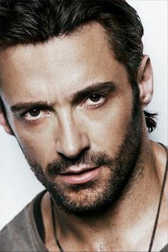 Hugh Jackman - effing hot adoptive dad.