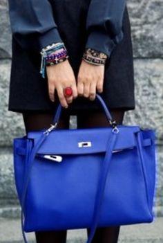 Hermes Cobalt Blue