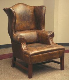 Miss Potter's Wingback Chair