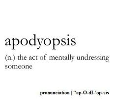 Omg there's actually a word for it. This is fantastic.