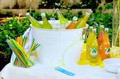 Drink Station for Fiesta Party - Aesthetic Nest