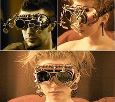 Steampunk goggles <3