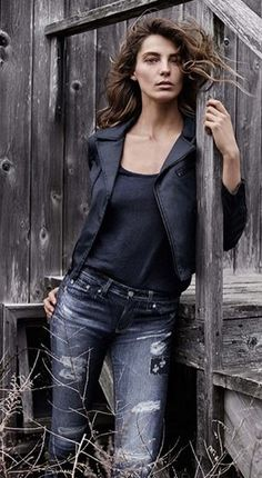 AG Jeans Fall 2014  #DariaWerbowy