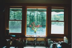 *View through the window