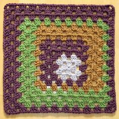 Ravelry: Shake It Up, Granny! Square - 12 pattern by Shan Sevcik
