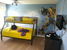 Transformers room :)