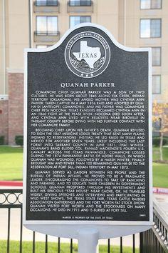 Information regarding Quanah Parker's life.